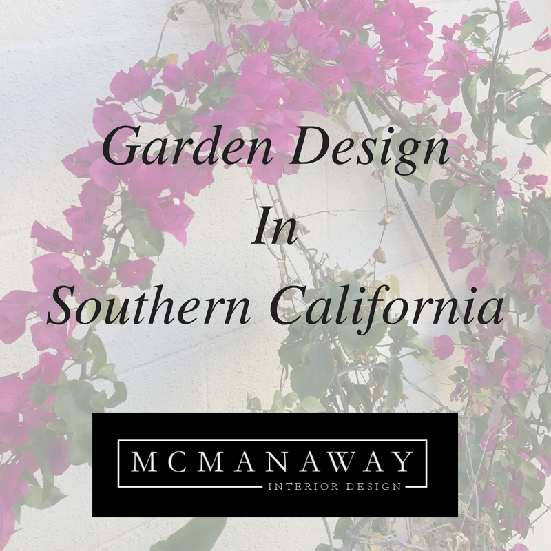 Garden Design in Southern California