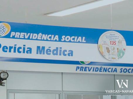 Procedimentos para agendamento de perícia médica para fins de pedido de prorrogação de auxílio-doenç