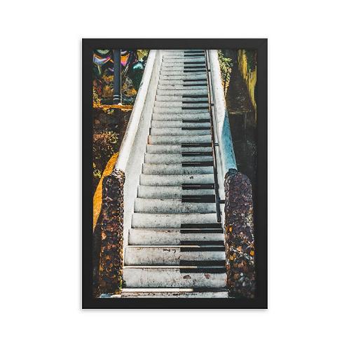 Piano Stairs - Valparaiso, Chile