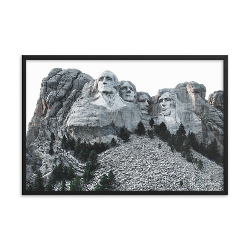 Mount Rushmore - Black Hills, South Dakota
