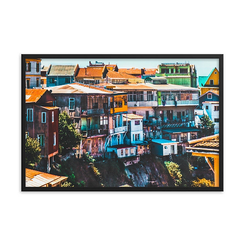 Colorful Homes - Valparaiso, Chile