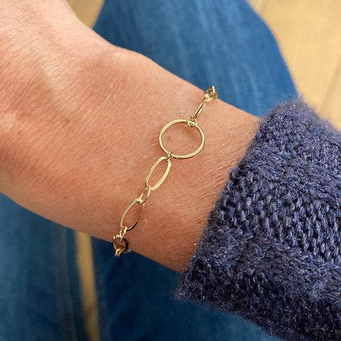 Bracelet Maille Cercle (clips)