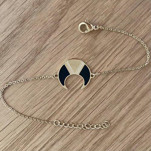 Bracelet Lune noire