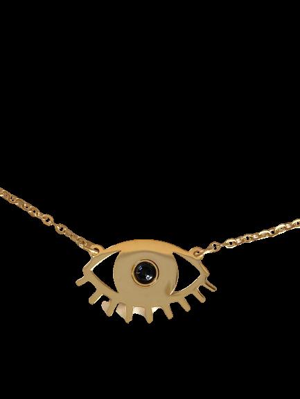 collier Oeil onyx