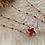 Thumbnail: collier Trèfle, couleurs chaudes