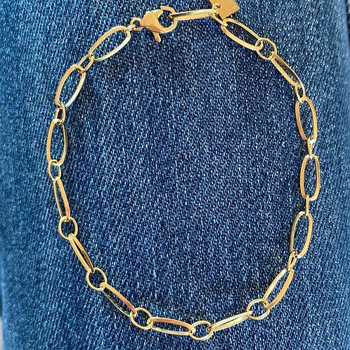 Bracelet Maille Oups (clips)