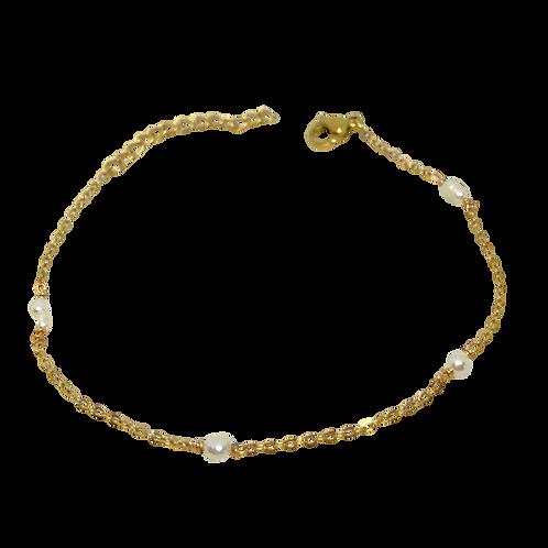 Bracelet 4 Perles d'eau douce