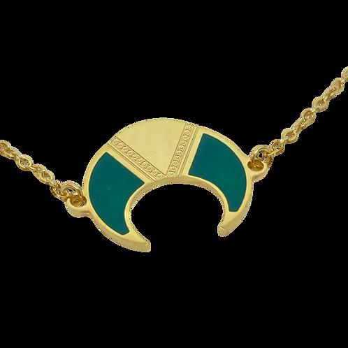 Bracelet Lune verte
