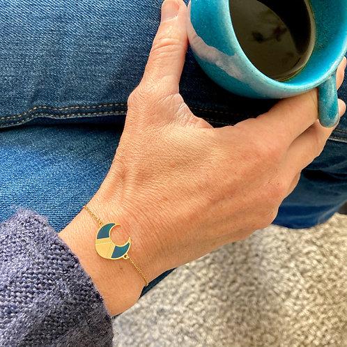 Bracelet Lune bleue
