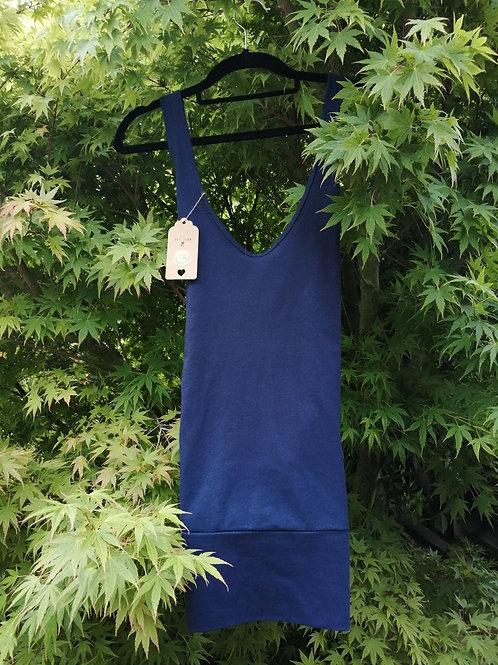 long length cotton yoga top