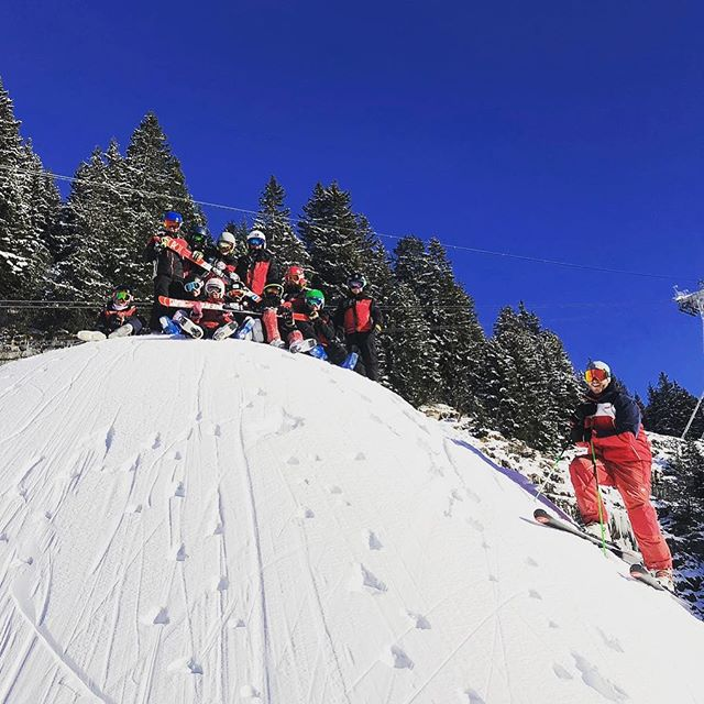 Les U12 et U14 à Flaine #skiclubsamoens #grandmassif