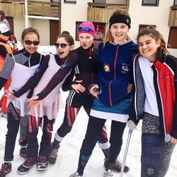 Équipe de choc #skiclubsamoens #samoens