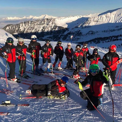Les U14 à Flaine #skiclubsamoens #grandmassif #samoens