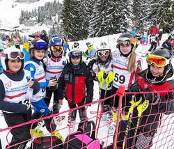 Les U12 du #skiclubsamoens #grandmassif #skicompetitionsamoens #samoens #grandmassif