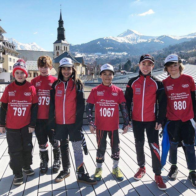 Conseil départemental 2018 St Gervais #skiclubsamoens