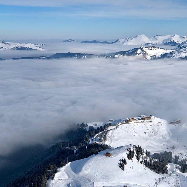 Au dessus des nuages #samoens1600 #grandmassif
