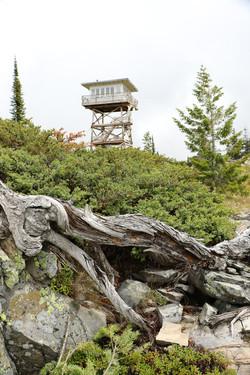 Garver Peak Lookout Tower