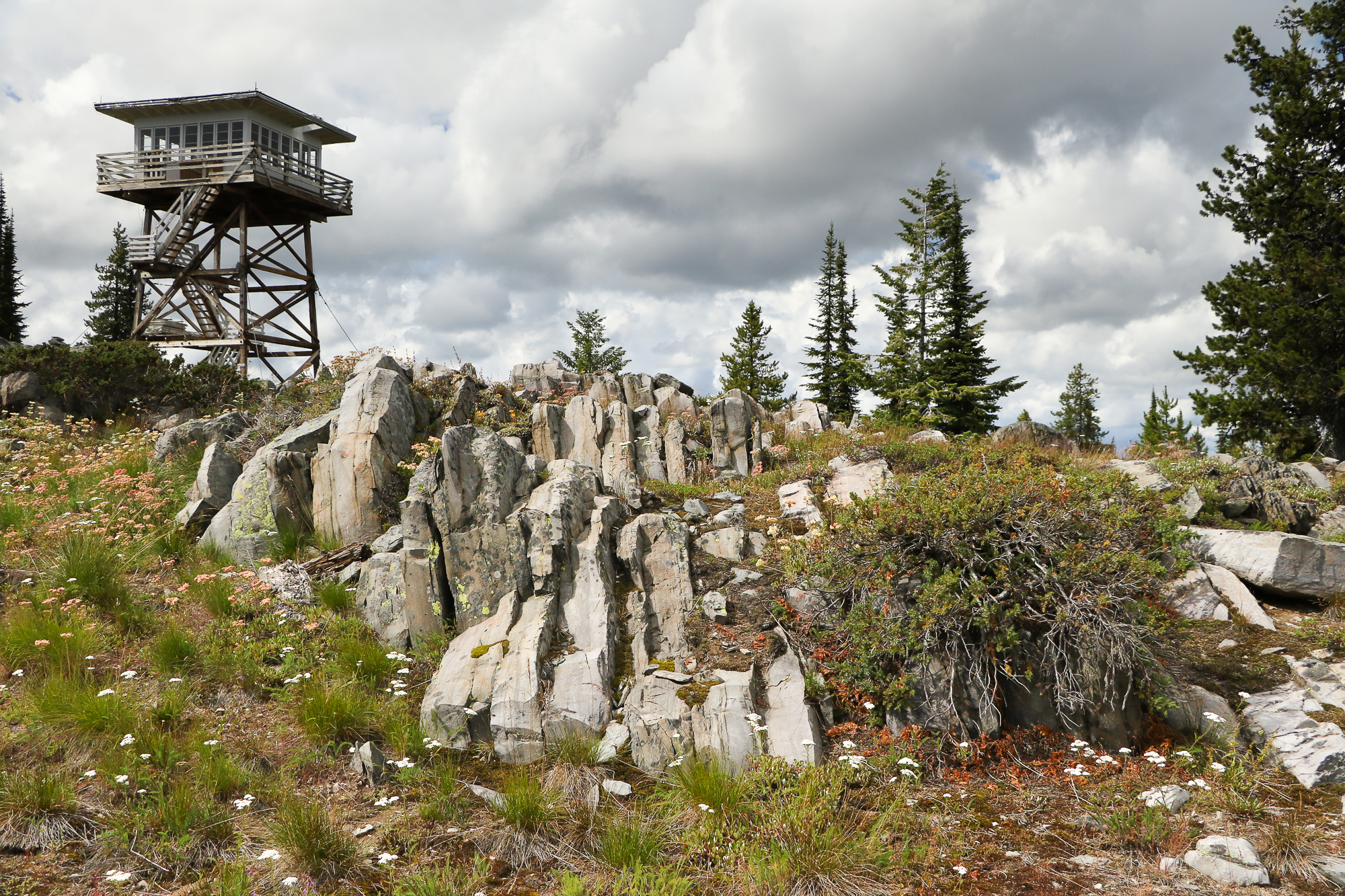 Garver Peak Lookout Tower