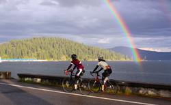 Rainbow and Riders, Coeur d'Alene