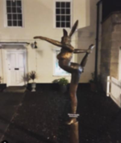 Standing Bow Sculpture
