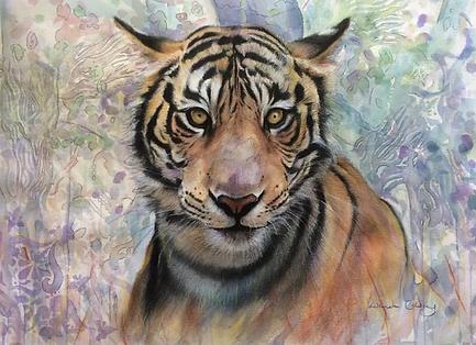 Lucinda Coldrey Crazy Tiger