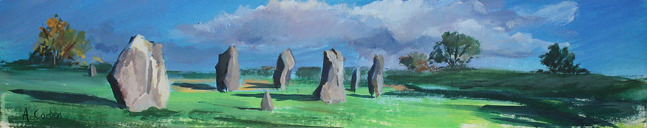 Angela Corben Encircling the Stones II