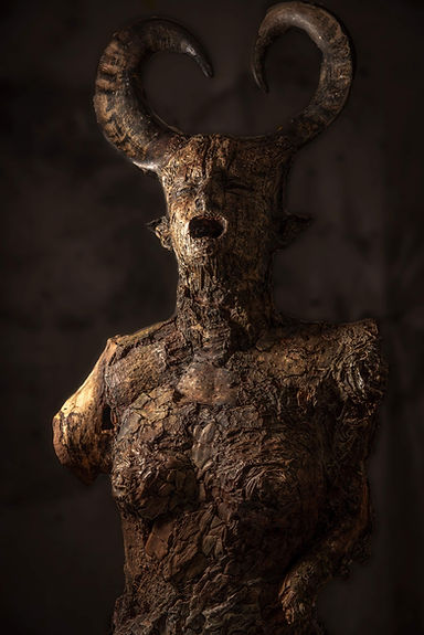 Paul Hawthorn Sculpture Last Breath Uttered