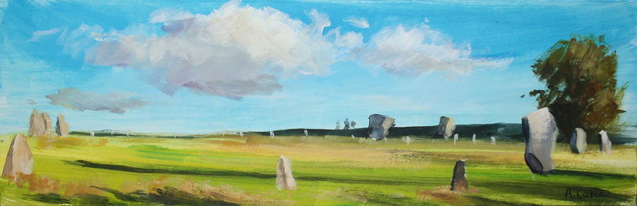 Angela Corben Long Shadows, Avebury