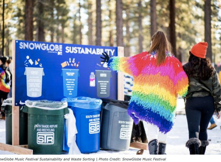 MTV's SnowGlobe Music Festival 2019 Sustainability Results