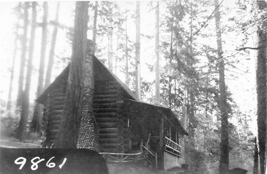 Lost Lake Log Cabin, listed on the Thuston County Historic Register