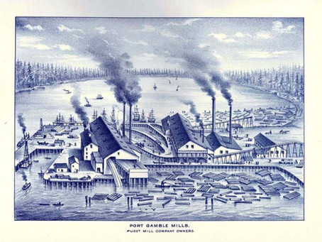 Black History of Kitsap County and the Multiethnic Puget Mill Company Town, 1860s to 1870s
