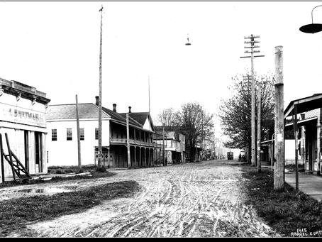 History at Main & Second, Olympia, WA