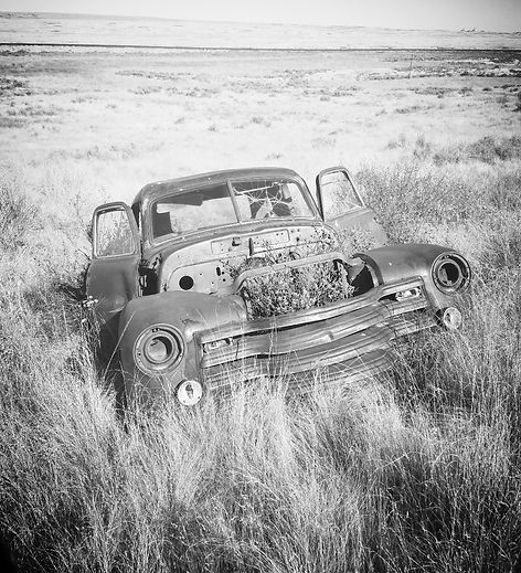 Photo of old truck by Bethany Mathews 2017