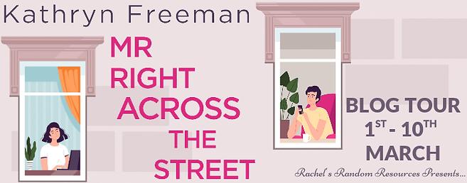 Mr Right Across The Street Banner