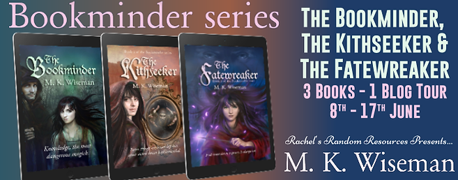 Bookminder series Banner