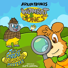 Wombat & Jones: The Great Banana Mystery Cover