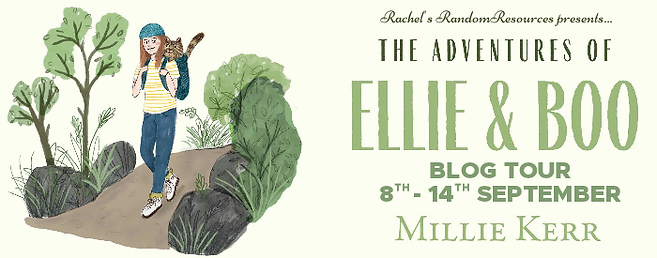 The Adventures of Ellie & Boo Banner