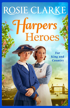 Harpers Heroes Cover