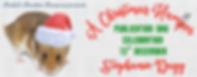 A Christmas Hamster Banner