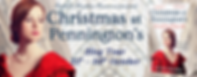 Christmas At Pennington's Banner