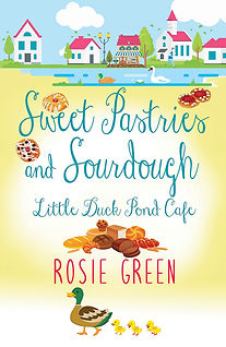 Sweet Pastries & Sourdough, Little Duck Pond Cafe Cover