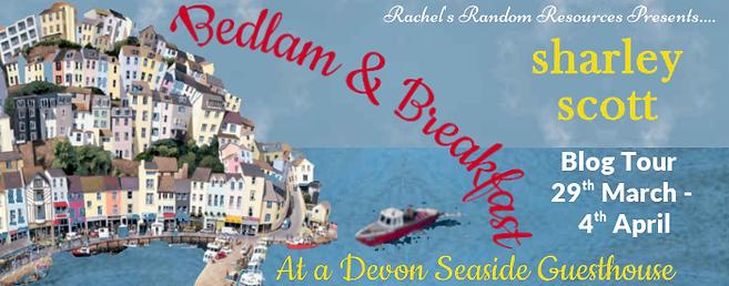 Bedlam & Breakfast at a Devon seaside guesthouse bannr