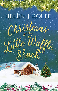Christmas at the Little Waffle Shack Cover
