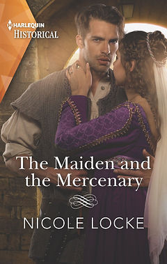 The Maiden and the Mercenary Cover