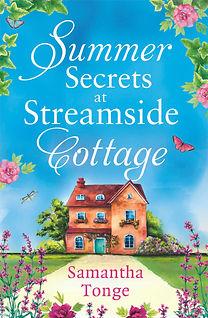 Summer Secrets at Streamside Cottage Cover