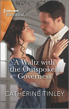 A Waltz with the Outspoken Governess Cover