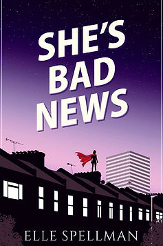 She's Bad News Cover