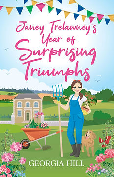 Janey Trelawney's Year of Surprising Triumphs Cover