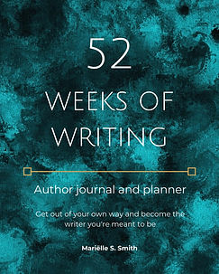 52 Weeks of Writing Author Journal and Planner Cover