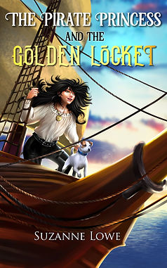 The Pirate Princess and The Golden Locket Cover